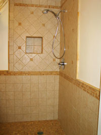 image of walk in shower